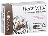 Herz Vital, hochdosierte Knoblauch Kapseln, ABG10+ schwarzer Knoblauchextrakt (black garlic) mit...