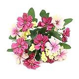 OMMO LEBEINDR Simulation Blumen Faux Gerbera-Blume Blumen Dekorative Partei Für Die Dekoration Rose...