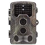SUNTEKCAM Wildkamera Fotofalle 2G MMS smtp 16MP 1080P HD Jagdkamera Nachtsicht Bewegungsmelder IP65...