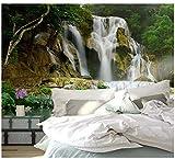 3D Wandtapete Berg Wasserfall Landschaft Poster Dekoration Wohnzimmer Schlafzimmer Hintergrund Wand...