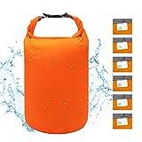 iOutdoor Products Dry Bag Leicht Wasserfester Stausack 2L / 5L / 10L / 20L / 40L / 70L Trockener...