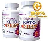 Keto Burn 2x [Original] Big-Pack Fabrikverkauf + 50% mehr Inhalt