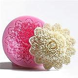 Mengjie 3D Rose handgemachte seife silikonform Fondant Kuchen Schokolade Kerze dekorieren süßwaren...