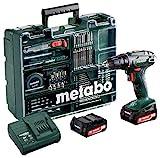 Metabo 60220688 Akkuschrauber BS 14.4 Set 14.4 V, 2x 2Ah Li-Ion Akkus, inkl. Ladegerät, im...