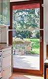 KATLOCK mechanische Einbruchsicherung (Fenster und Türen) - bis 10.000N Kraftaufnahme - 10mm...