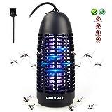 DEKINMAX Elektrischer Insektenvernichter, UV Insektenvernichter Mckenlampe Schutz vor Elektrischem...