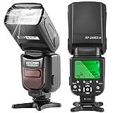 K&F Concept i-TTL Blitz Nikon Blitzgerät Blitzlicht Speedlite für Nikon mit Wireless Slave...