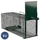 Moorland Safe 5001 Lebendfalle 60x23x23cm als Marder-Falle, Katzen-Falle, Fuchs-Falle, Ratten-Falle...