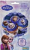 Dekoback Essbare Zucker-Muffinaufleger Frozen, 1er Pack (1 x 42 g)