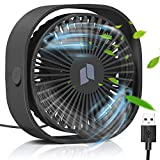 TedGem USB Ventilator, Ventilator Klein Handventilator PC Ventilator USB Mini Ventilator USB Lüfter...