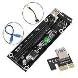 Wiivilik PCIE 16x Adapter Grafikkarte Verlängerungskabel für PCIE Slot für GPU Grafikkarte...