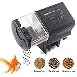 boxtech Automatisierte Futterspender Fischfütterung Automatische Futterautomat für Fische Aquarium...