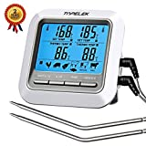 Habor Thermometer Küche Digitales Grill Thermometer Bratenthermometer Fleischthermometer 2 Sonden...