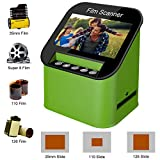 Diascanner und 4.3 Zoll TFT LCD Display 22MP All-In-1-Film Multiscanner f Film/Slide, super 8 Film,...