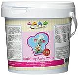 FunCakes Modelling Paste weiß, 1er Pack (1 x 1000 g)