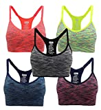 Wandern Gril Damen Sport-BH, nahtlos, bequem, mittlere Unterstützung, Workout, Yoga - Mehrfarbig -...
