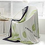 N/A MYBH Home Decoration Bettdecke Klimaanlage Decke Gaze Baumwolle Büro Nickerchen Decke Sofa...