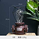 lilizhang Neue industrielle Wind LED-Dekoration Retro-Modell kreative Home Crafts Erffnung Cafe...