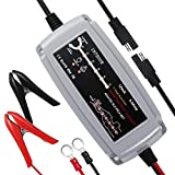 Inthoor 5A/12V Vollautomatisches Autobatterie Ladegeräte,Intelligentes Batterieladegerät...