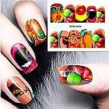 Baobao CELINEZL 3 STÜCKE Nail Sticker Set Aufkleber Wassertransfer Slider Nails Art Dekoration,...