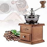 Kaffeemühle/Kaffeemühle Handkaffeemühle holz, Acogedor Manuelle Kaffeemühle - einstellbare...