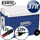 Ezetil Kühlbox Blau Weiß Mit Räder E40 M 12 230V Ssbf 7762.40