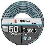 GARDENA Classic Schlauch 13 mm (1/2'), 50 m: Universeller Gartenschlauch aus robustem Kreuzgewebe,...