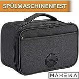 MAHEWA Kühltasche Klein Lunch-Tasche Thermo-Tasche 4l | Wasserdichter Einsatz Entnehmbar...