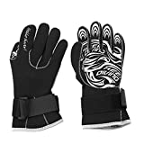 Keen so Tauch Handschuhe, 1 Paar/Set 4 Gren 3mm Tauchhandschuhe Anti-Rutsch-Neopren-Tauchhandschuhe...