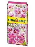 Floragard Orchideenerde torffrei 5 L •  für Phalaenopsis und andere Orchideenarten • mit...