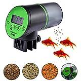200 ml Aquarium Futterautomat Fischfutterautomat, Automatisierte futterspender für Fische, USB...