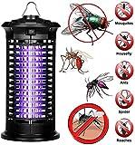LLDKA Mückenvernichter,Elektrischer UV Insektenvernichter Mückenfalle Schutz vor Elektrischem...