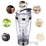 Kitabetty Elektrische Shaker-Flasche, Elektrische Protein Shaker Flasche Protein-Shaker-Tasse USB...