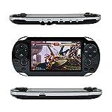 QUMOX Handheld Retro Spielkonsole, Leezo 1PC Wiederaufladbare 4,3 Zoll 8GB Videospielkonsole Free...