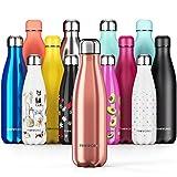 Proworks Edelstahl Trinkflasche | 24 Std. Kalt und 12 Std. Hei - Premium Vakuum Wasserflasche -...