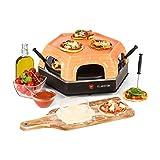 Klarstein Capricciosa - Pizzaofen für 6 Personen, Pizzadom, elektrisch, 1500 Watt, 5-7 Min....