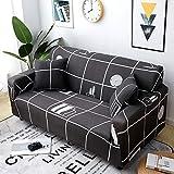 1/2/3/4 Sitzer Sofabezug Sofaüberwurf Stretch weich elastisch farbecht Stadtleben 3 Sitzer...