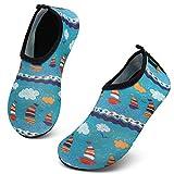 SAGUARO Strandschuhe Kinder rutschfest Badeschuhe Wasserschuhe Mädchen Schwimmschuhe...