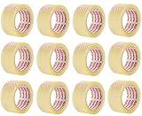 Packatape | Paketklebeband transparent | 66m lang & 48mm breit | Ideal als Klebeband, Paketband,...