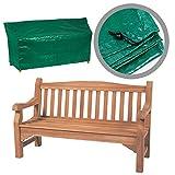 Schutzhülle für Zweisitzer-Gartenbank, robust, wasserdicht, 1,2m, Grün