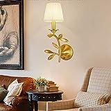 CUICAN Kupfer Blume Wandlampe, Schne Modernen Dekoration Schn Dekorative Wandleuchte Beleuchtung...