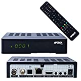 Apebox C2 Full HD 1080p Combo Satelliten & DVB-T2/C Kabel Receiver (H.265, 1x DVB-S2, 1xDVB-T2/C, 2X...