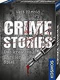 KOSMOS 695224 Veit Etzold - Crime Stories, Das kreative Thriller-Spiel,  Krimi Kartenspiel,...