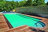 KWAD Styropor Stein Pool All Inclusive inkl. Römertreppe 250 700 x 350 x 150 cm
