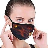 Maske Walking Tiger Unisex Männer Frauen Radfahren Sport Anti-Staub-Baumwolle Mund Gesichtsmaske...