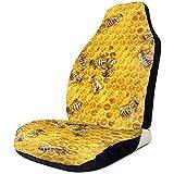 Xiaoyinghua Autositzbezüge Bee Honeycomb Elastic Bucket Sitzbezug Universal Car Seat