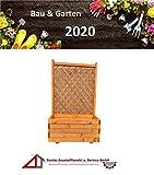 BaustoffhandelShop Blumenkasten Holz Rankgitter Pflanzkasten Rankkasten Rankhilfe Rosengitter Kbel...