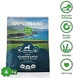 Irish Pure Adult Atlantik-Lachs mit Kelp-Alge & Gemüse - Hypoallergenes Trockenfutter für Hunde,...