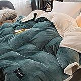 IMBM-Duvet Flexibler doppelseitiger Abnehmbarer Bettdeckenbezug + warme Bettdecke, multifunktional,...