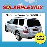 Solarplexius Sonnenschutz Autosonnenschutz Scheibentönung Sonnenschutzfolie 1x Heckscheibe für...